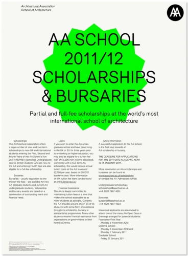 AA Scholarships And Bursaries