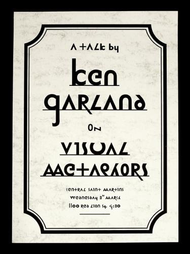Ken Garland on Visual Metaphors
