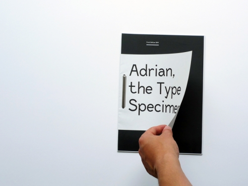Typeface Adrian