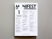Manifest: A Journal of American Architecture...