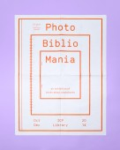 ICP PhotoBiblioMania exhibition poster