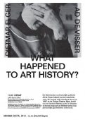 WHAT HAPPENED TO ART HISTORY?