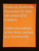 Sheila de Bretteville Poster