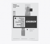 Church - 3rd Birthday Poster