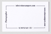 Stine Sampers Bussiness Cards
