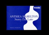 Anthea Hamilton: Sorry I'm Late